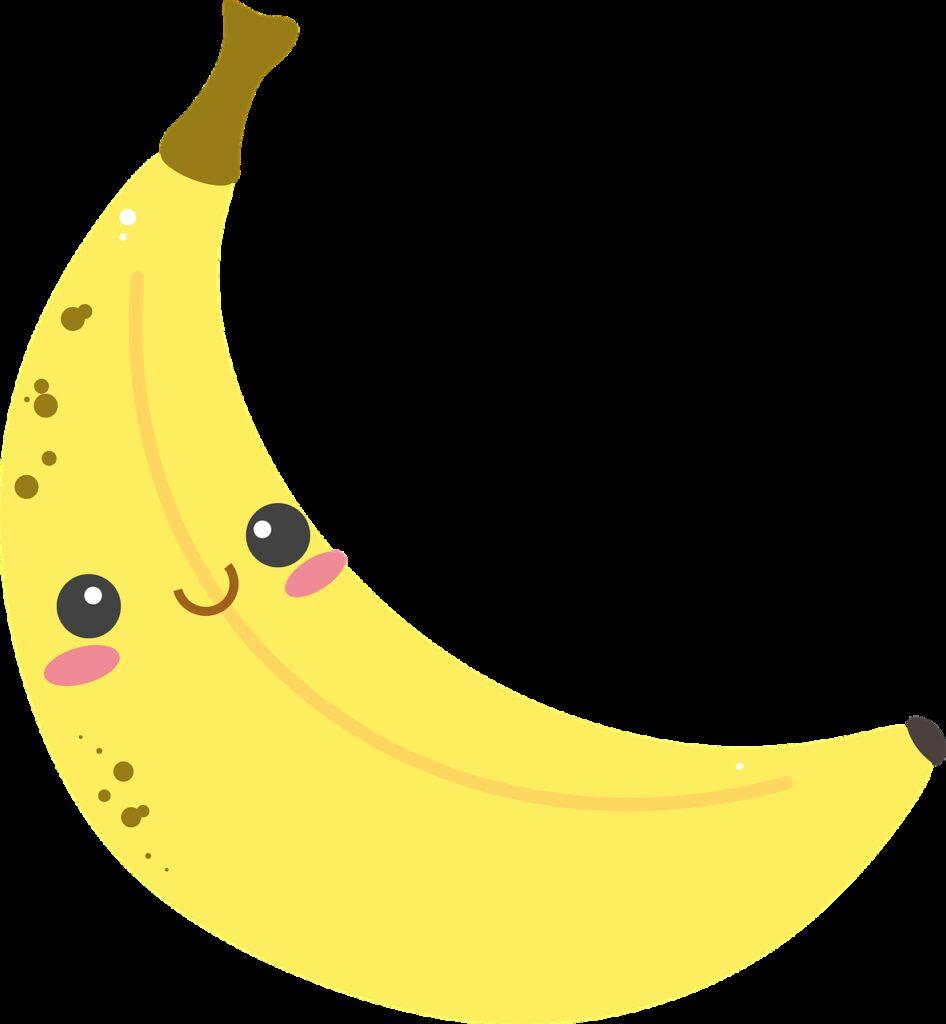 banana, yellow, sweet