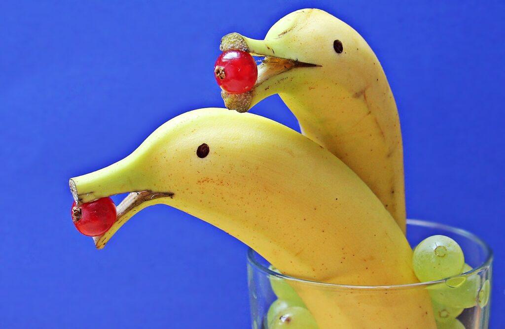 bananas, deco, fruit