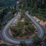 winding, road, bend